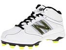 New Balance WF7534 TPU Molded Mid Cut White, Black Shoes