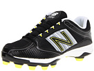New Balance WF7534 TPU Molded Low Cut Cleat Black, Silver Shoes