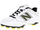 New Balance WF7534 TPU Molded Low Cut Cleat White, Silver Shoes