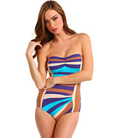 Marc by Marc Jacobs - Vintage Stripe Pleated Maillot