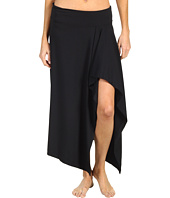 Michael Kors - Romanesque Solids Draped Cover Up Skirt