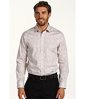 Perry Ellis - Slim Fit Floral Stencil Shirt