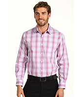 Perry Ellis - Classic Fit Ombre Plaid L/S Shirt