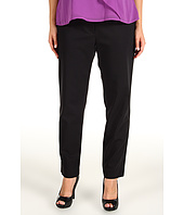 DKNYC - Plus Size Skinny Pant w/ Faux Leather Pocket Trim