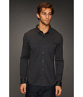 John Varvatos Collection - L/S Silk & Cotton Button Up