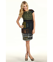 Maggy London - Abstract Print Sheath Dress