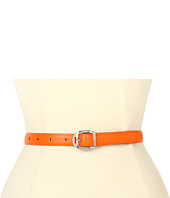 LAUREN Ralph Lauren - Saffiano Belt with Martingale Buckle