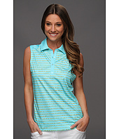 PUMA Golf - Sleeveless Dotted Stripe Polo Shirt '13