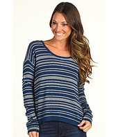 C&C California - Shimmer Stripe Cashmere Blend Sweater