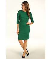 Ellen Tracy - 3/4 Sleeve Ponte Knit Dress