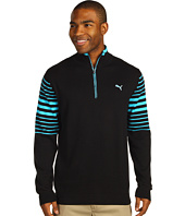 PUMA Golf - 1/4 Zip Stripe Sweater '13