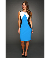 Calvin Klein - Striking Colorblock Ponte Dress
