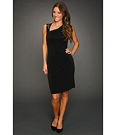Calvin Klein - Jersey Dress With Sequin Piecing