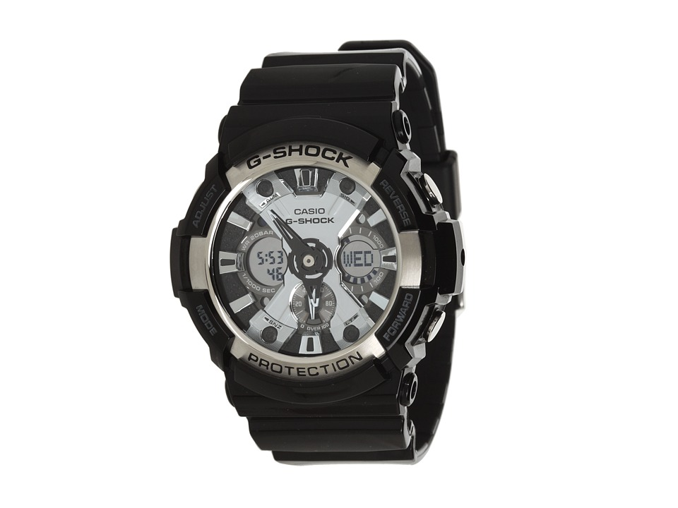 G Shock G Shock GA200 Black/Black Watches