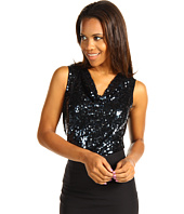 Calvin Klein - Sequin Cowl Neck Top