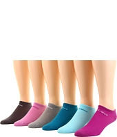adidas - Women's Superlite Solid No Show 6-Pair Pack