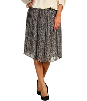 Jones New York - Pleated Mid Length Skirt