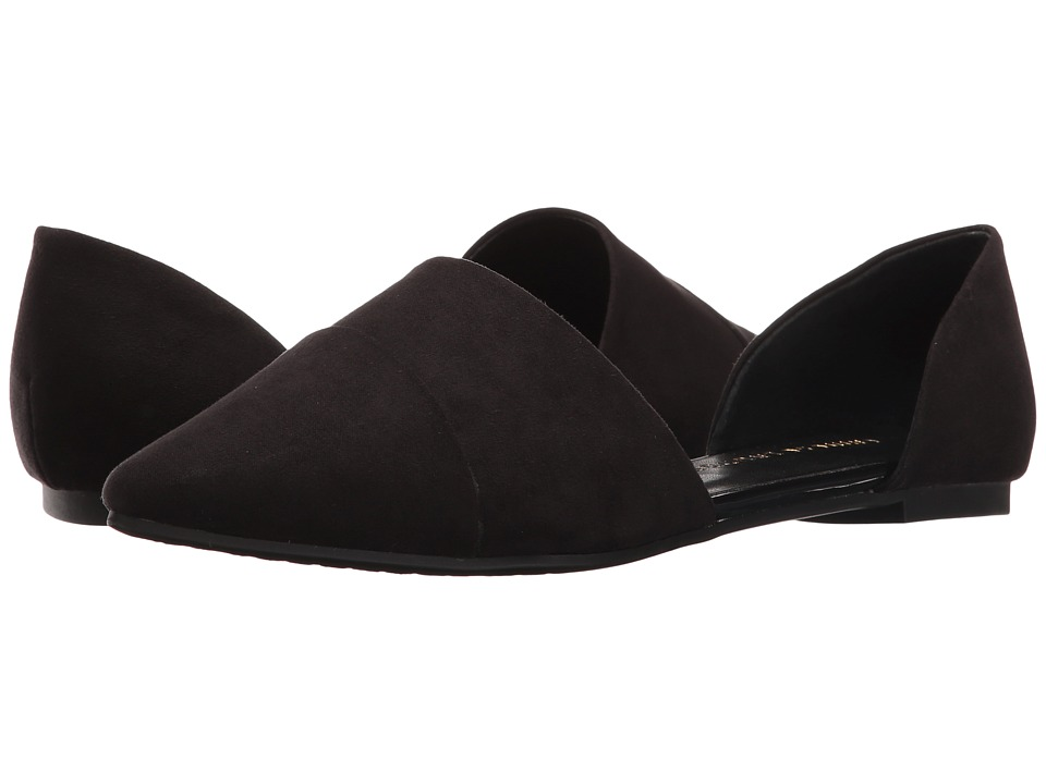 Chinese Laundry Easy Does It Flat (Black Suede) Women