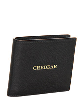 Jack Spade - Embossed Idiom Leather Cheddar Bill Holder
