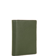 Jack Spade - Crosshatch Leather Vertical Flap Wallet