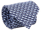 Vineyard Vines - Printed Tie - Whale (Navy) - Accessories
