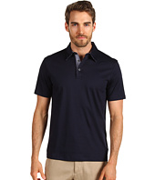 Michael Kors - Short Sleeve Contrast Shirting Polo Shirt