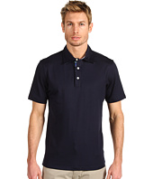 Michael Kors - Short Sleeve Woven Trim Polo Shirt