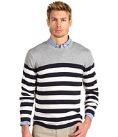 Michael Kors - Long Sleeve Stripe Crewneck Sweater