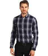 Michael Kors - Ombre Plaid Mini Color Slim Fit Shirt