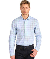 Michael Kors - Rowe Check Bias Bound Placket Shirt