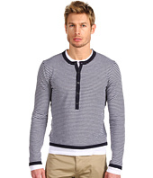 Michael Kors - Double Layer Stripe Henley
