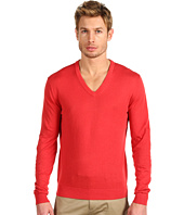 Michael Kors - V-Neck with Elbow Patches Sweater
