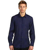 Versace Collection - Burnout Button Down Shirt