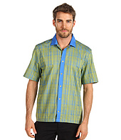 Versace Collection - Printed Short Sleeve Shirt with Contrast