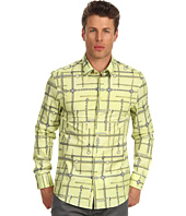 Versace Collection - Stretch Cotton All Over Print Button Down