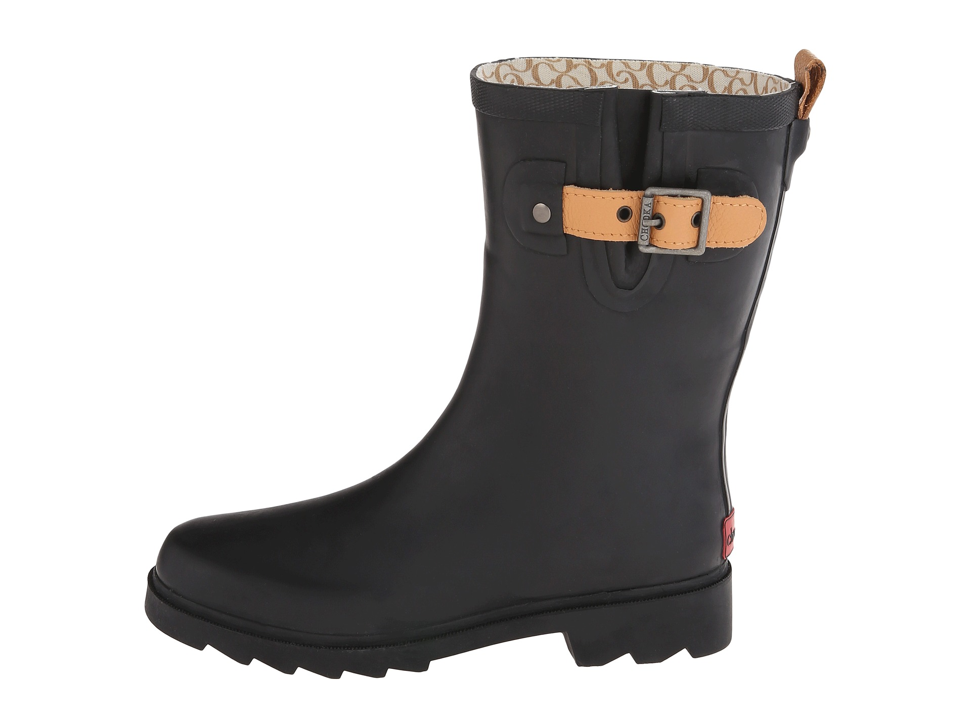 Chooka Top Solid Mid Rain Boot - Zappos.com Free Shipping BOTH Ways