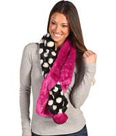 Betsey Johnson - Dotty Girl Tubular Slide Thru Scarf