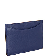 Jack Spade - Crosshatch Leather Credit Card Holder