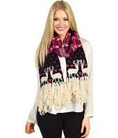 Betsey Johnson - Reindeer Love Muffler