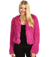 Betsey Johnson - Curly Q Jewel Neckline Jacket