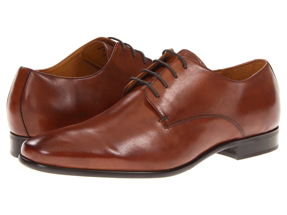 Gordon Rush Manning Cognac Calf Mens Dress Flat Shoes