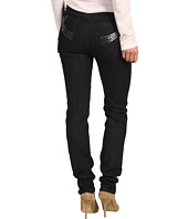 Miraclebody Jeans - Skinny Minnie w/ Sequin Wiltern Pocket in Lava