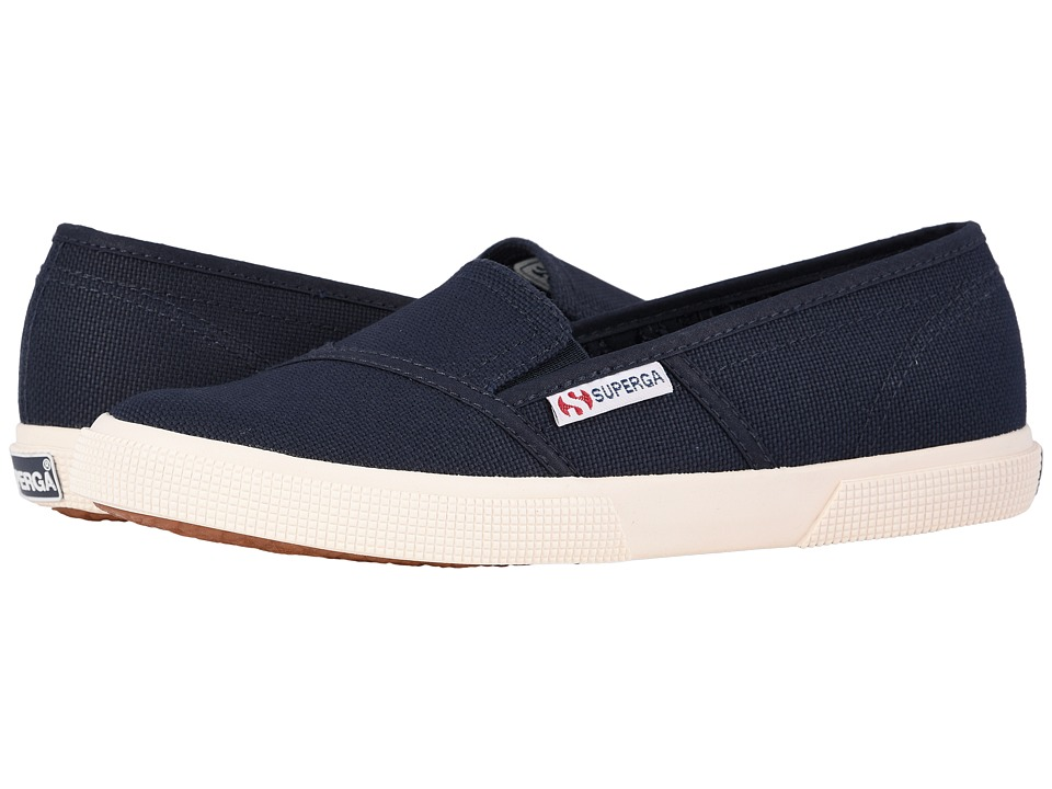 Superga 2210 COTW Slip On Navy Womens Slip on Shoes