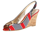 Tommy Hilfiger - Violeta (Red Multi Fabric) - Footwear