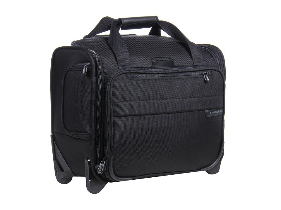 Briggs & Riley - Baseline Rolling Cabin Bag (Black) Duffel Bags