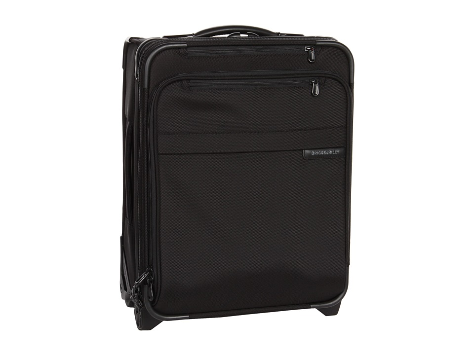 Briggs & Riley - Baseline - Commuter Expandable Upright (Black) Carry on Luggage