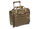 Briggs & Riley Baseline Rolling Cabin Bag (Olive)