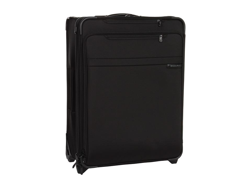 Briggs amp Riley Baseline Medium Expandable Upright Black Luggage