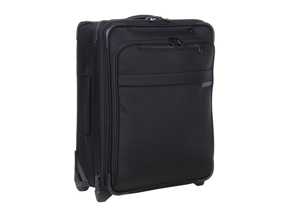 Briggs & Riley - Baseline International Carry-On Wide Body Upright (Black) Carry on Luggage