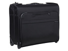Briggs & Riley Baseline Deluxe Wheeled Garment Bag (Black)